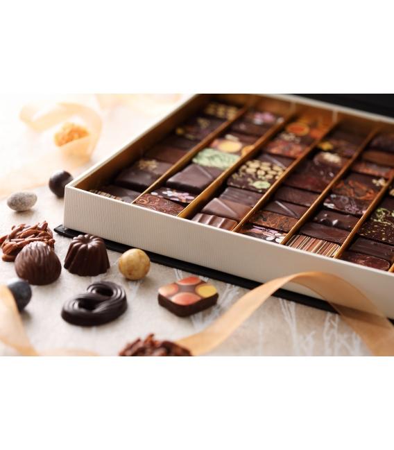 Ballotins de chocolat uniquement Noir