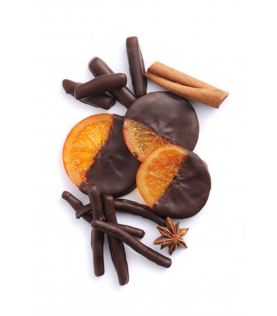 Tranches d'oranges confites 150g
